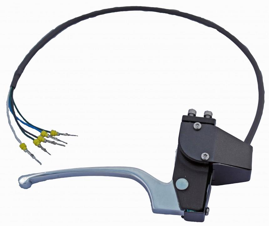 Knijpgas voor elektrische voertuigen