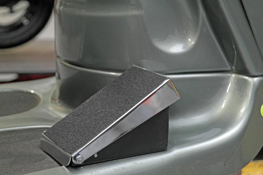 Voetgas voor op elektrische voertuigen